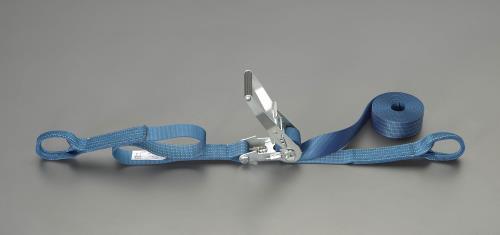 サービス ジャッキ、プーラー、荷締機 上質 荷締部品 荷締機 エスコ ESCO 50mmx6.0m EA982SA-5A ベルト荷締機 1010Kg ラチェット式