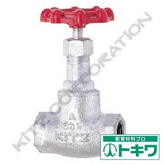 キッツ ジスク入りグローブバルブ10K 11/4 10SD-32A (10SD-1 1/4) ( 10SD32A )