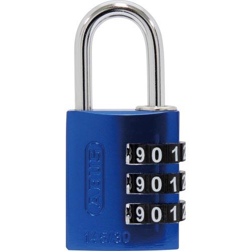 金物 建築資材 建築金物 ギフト 鍵 スーパーSALE対象商品 ABUS アバス社 145-BIGD 145BIGD30BLUE 信頼 30 BLUE