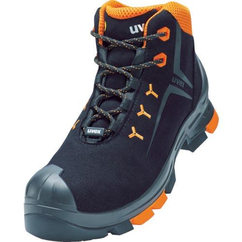 条件付送料無料 保護具 安全靴 作業靴 UVEX 2 UVEX社 SRC 付与 6509542 レースアップブーツ27.0CM 絶品 S3