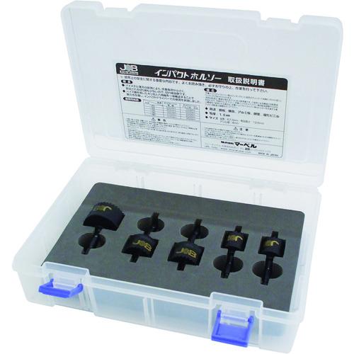 条件付送料無料 格安 価格でご提供いたします 切削工具 穴あけ工具 ホールソー ジョブマスター インパクトホールソー JIH173 マーベル 春の新作 5本セット JIH-173 株