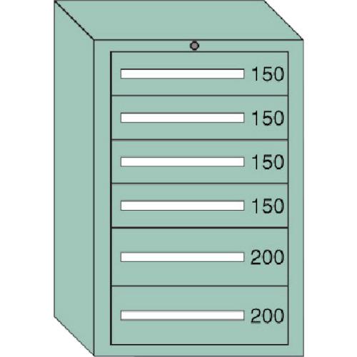 ) 61014 大阪製罐(株) 中量キャビネット 6-1014 間口693×奥行557×高さ1081mm OS (