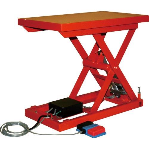 ( ) トラスコ中山(株) トラスコ(TRUSCO) テーブルリフト100kg(電動Bねじ式200V)500×650mm HDLH1056R22 HDL-H1056R-22