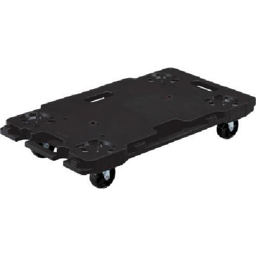 SK6839BK 樹脂製平台車 ( ) ブラック SK-6839-BK 【2台セット】 サンコー サンキャリー6839