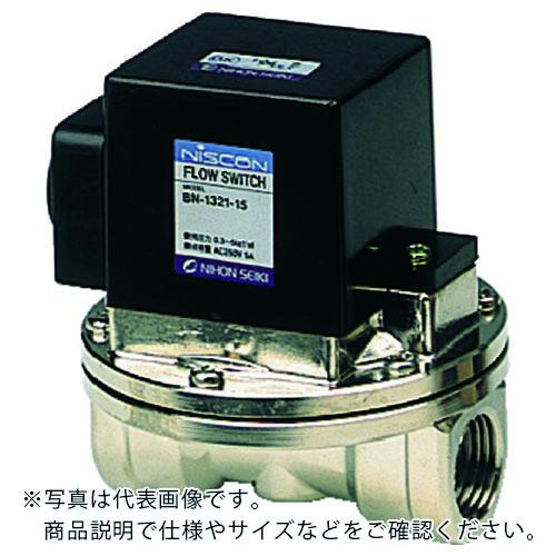 空圧 油圧機器 今季も再入荷 フロースイッチ 日本精器 15A 低流量用 株 BN-1321L-15 上等 BN1321L15