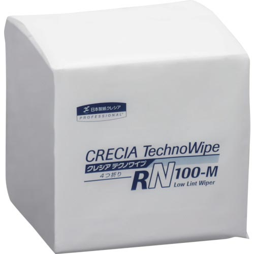 クレシア テクノワイプ RN-100M 4つ折り 63480 ( 63480 ) 日本製紙クレシア(株)