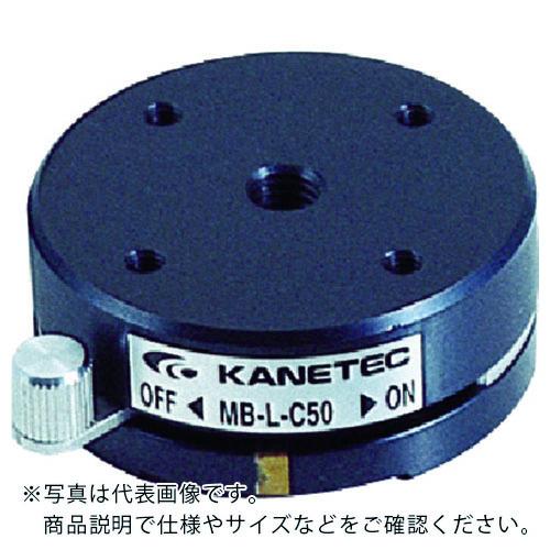 条件付送料無料 生産加工用品 マグネット用品 マグネットベース カネテック 薄型永磁ホルダ台 激安通販ショッピング MB-L-C75 株 セール特別価格 MBLC75