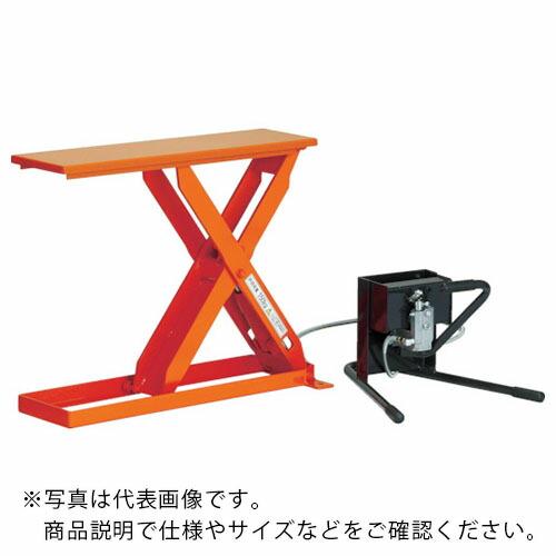 リフター ハンドパレット テーブルリフト 足踏み式 TRUSCO スリムリフト150kg HLHS152509 HLH-S15-2509 本物 足踏式 トラスコ中山 900X250 株 (訳ありセール 格安)
