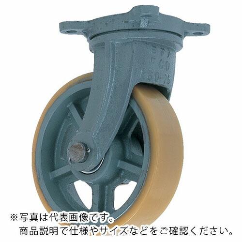 金物 建築資材 キャスター 美品 鋳物製キャスター ヨドノ 株 超特価 UHBーg100X65 UHBG100X65 UHB-G100X65 鋳物重荷重用ウレタン車輪自在車付き