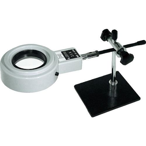 条件付送料無料 測定 計測用品 光学 お得なキャンペーンを実施中 精密測定機器 超特価 照明拡大鏡 リーフ 京葉光器 LEDS035S LEDS-035S LED照明拡大鏡 株 3.5x