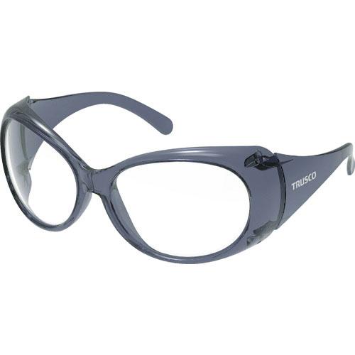 保護具 保護メガネ 防災面 二眼型保護メガネ スーパーSALE対象商品 TRUSCO FVGBK 株 FVG-BK 特売 直営ストア PET-AFレンズ トラスコ中山 ワイドビュー2眼型保護めがねブラックタイプ