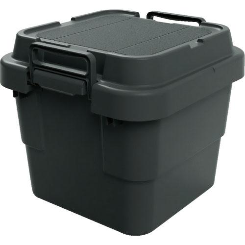 物流 保管用品 収納用品 メーカー公式ショップ 道具箱 スーパーSALE対象商品 TRUSCO トランクカーゴ フラット天板仕様 株 黒 BLKCF-30 トラスコ中山 BLKCF30 30L 超特価