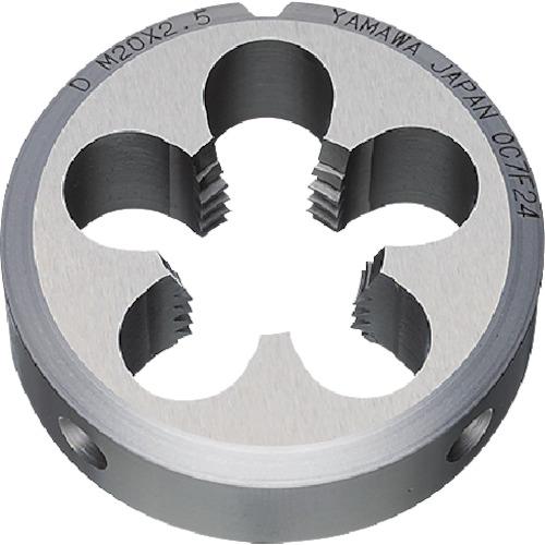条件付送料無料 切削工具 ねじ切り工具 ダイス ヤマワ 汎用ソリッドダイス HSS メートルねじ用 株 弥満和製作所 メーカー取寄 D2M24X250 永遠の定番モデル 超激安特価 D2-M24X2-50
