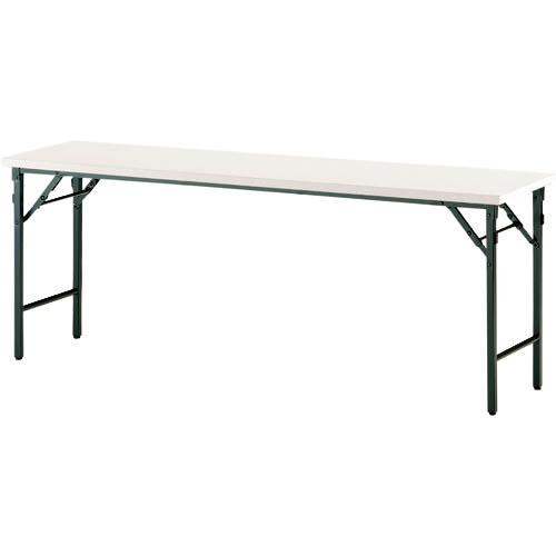 オフィス 住設用品 オフィス家具 会議用テーブル TOKIO 折りたたみテーブル 即出荷 1500×450mm 2020 新作 アイボリー IV 株 TW1545TN TW-1545TN メーカー取寄 藤沢工業