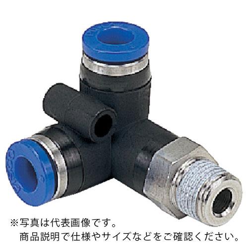 空圧用品 流体継手 チューブ チューブ継手 25%OFF ピスコ 耐腐蝕性SUS303相当継手 SPVX4M6 オリジナル メーカー取寄 日本ピスコ 株 SPVX4-M6 トリポッドエルボチューブ4ネジM6X1
