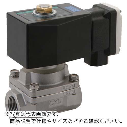 CKD 蒸気用パイロットキック式2ポート電磁弁 SPK11-15A-N4N-AC100V ( SPK1115AN4NAC100V ) CKD(株) 【メーカー取寄】
