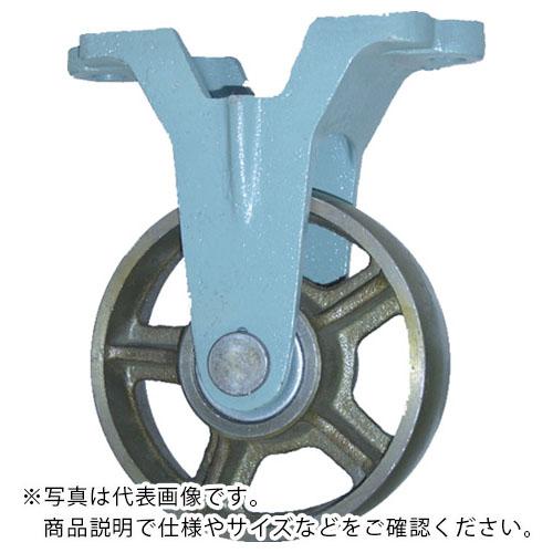 条件付送料無料 金物 建築資材 キャスター 鋳物製キャスター ヨドノ 株 ご注文で当日配送 メーカー取寄 低廉 鋳物車輪固定車付きベアリング入 250φ CBK250 CB-K250