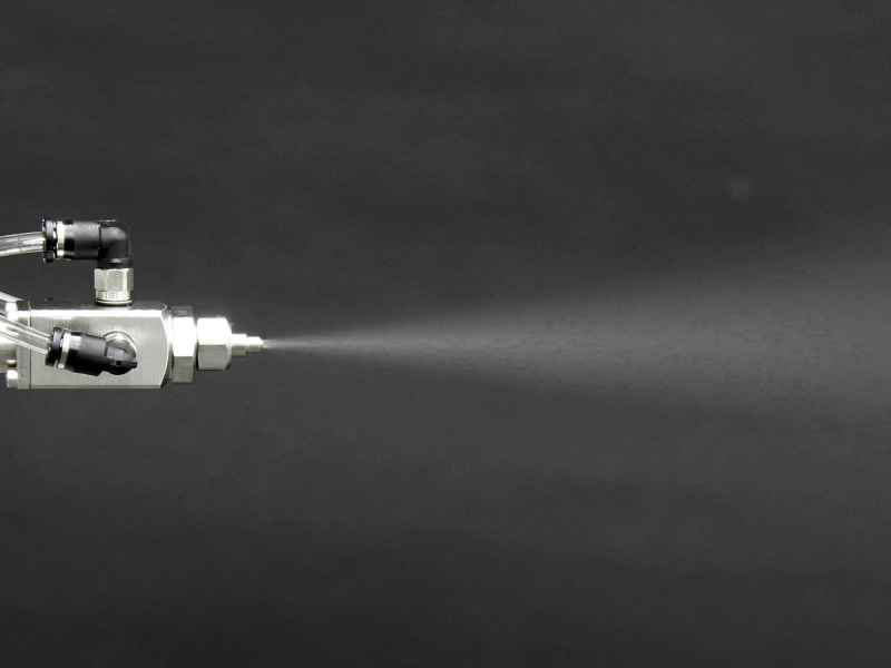 いけうち 微霧発生超コンパクトノズルSCBIMシリーズ/制御形 SCBIMV80005S303+SNS303 M3-42.7mm