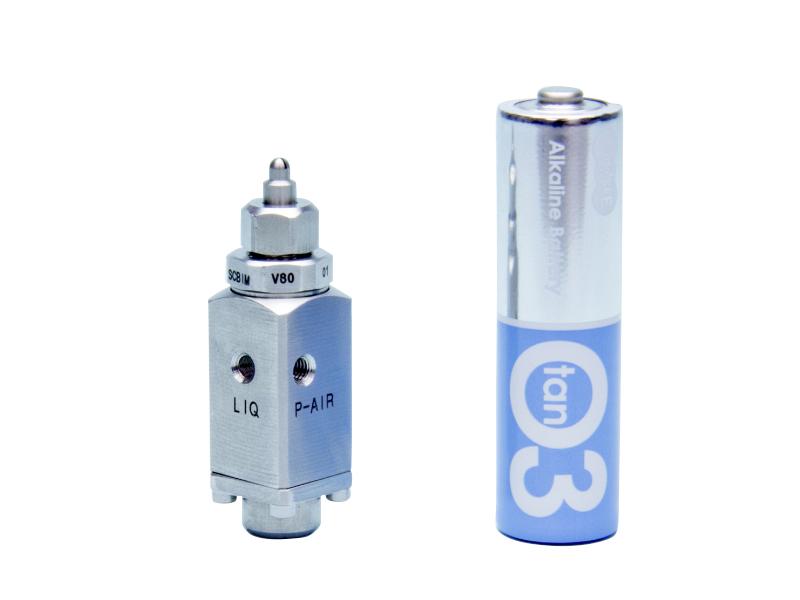 いけうち 微霧発生超コンパクトノズルSCBIMシリーズ/制御形 SCBIMV8001SS303+SNS303 M3-42.7mm