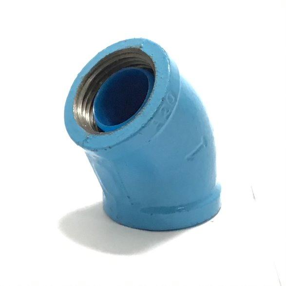 日立金属 管端防食管継手 PQWK エルボ 45L 100A 内蔵コア 優れた防食性能 容易な施工管理(管端コア一体型) 水道水(上水) 空調冷却水 雑用水(中水) 工業用水