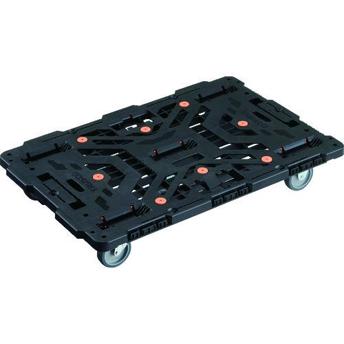 トラスコ中山 株 TRUSCO 連結式樹脂製平台車 ビートル 人気ショップが最安値挑戦 900X600 2063287 新色追加 自在3輪 BT900J3E100