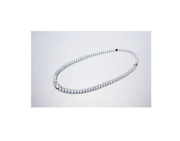 送料無料 お買得 ファイテン水晶ネックレス グラデーション 65cm 発売モデル