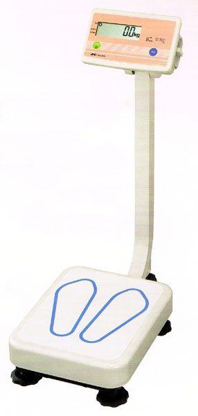 エーアンドデイAND業務用体重計ポール付AD-6207A検定付ひょう量200kg 【smtb-k】【ky】