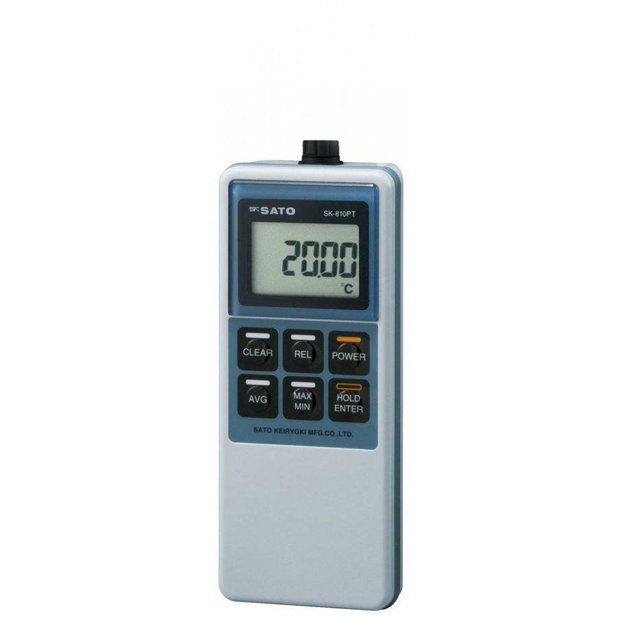 佐藤計量器 SK-810PT(指示計のみ) 精密型デジタル温度計 No.8012-00 SATO