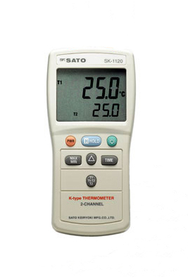 佐藤計量器SATOデジタル温度計SK-1110(指示計のみ)