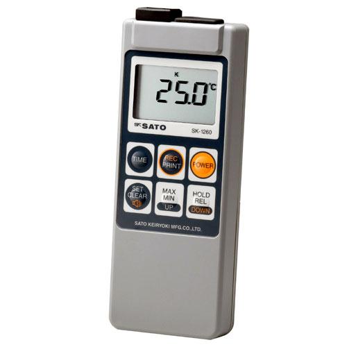 佐藤計量器SATOメモリ機能付防水型デジタル温度計SK-1260(指示計のみ), ナガサキシ:7acc59d0 --- zonespirits.xyz