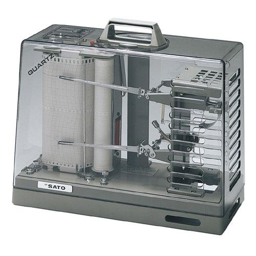 佐藤計量器SATOオーロラ90III型湿温度記録計(1ヶ月用紙付)