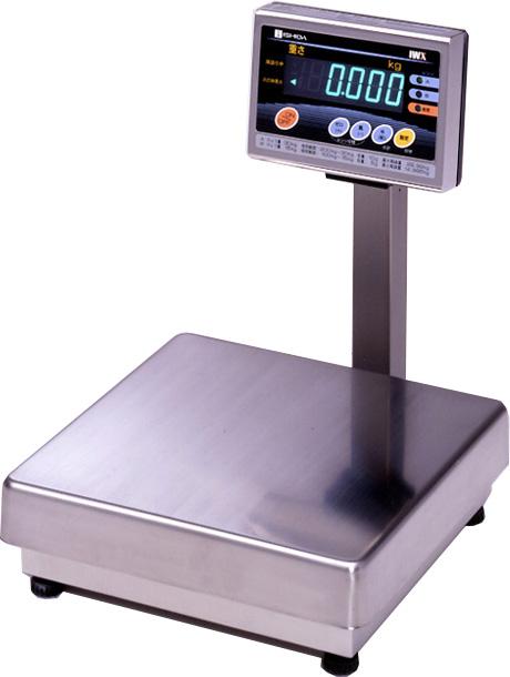 イシダISHIDA防水型デジタル台はかりIWX-30ひょう量30kg(検定付)