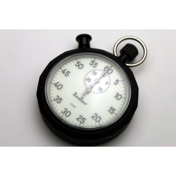 HANHART蛍光アナログストップウォッチ1/5秒30分積算式1石