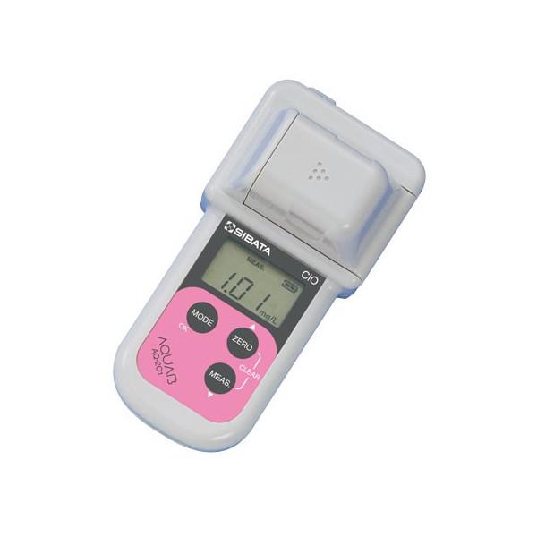 柴田科学SIBATA ハンディ水質計アクアブ残留塩素測定器DPD法AQ-201型 試薬付
