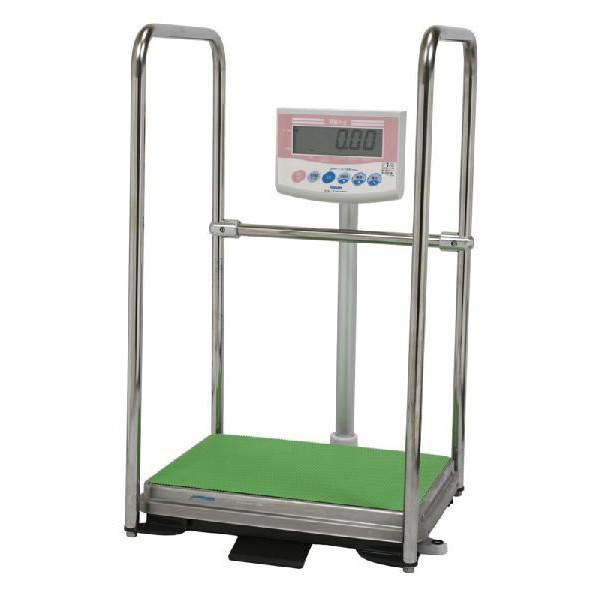 大和製衡 DP-7101PW-Tプリンタ付 手すり付デジタル体重計 ひょう量150kg 一体型ジャーナルプリンタ付 Yamato