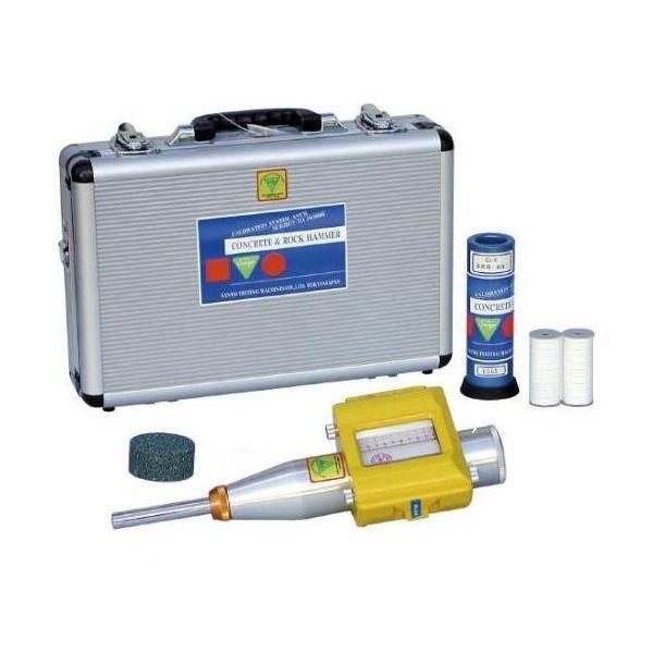 三洋試験機工業 コンクリートテストハンマー NSR-2型 記録式 (簡易テストアンビルCA-2付属)