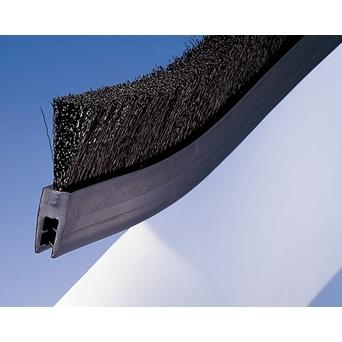 バーテック 防虫・防塵ブラシ バーカットフレックスシステム MHMタイプ 帯電防止 MHM 馬毛 5m BF10-MHMH 5M 1個 21110705 【代金引換不可】