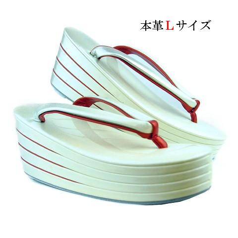 草履 振袖用 銀ボカシのエナメル加工           4枚重ね(Lサイズ)8cm高