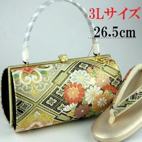 バッグセット 大きい3Lサイズ 振袖用(佐賀錦)