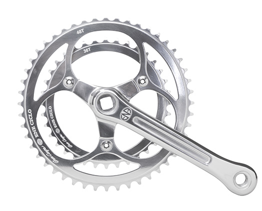 ENE CICLE(エネシクロ)のクランクセット、Ene Ciclo Chainwheel Double(エネシクロチェーンホイールダブル)