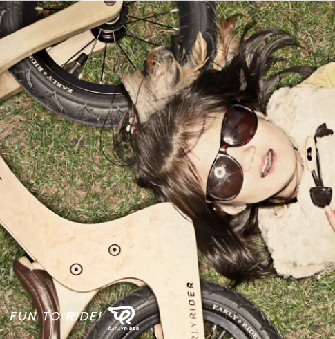 2歳からのランバイク、EARLY RIDER(アーリーライダー)のCLASSIC(クラシック)
