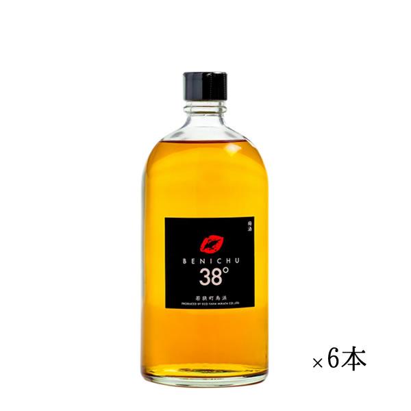 梅酒 ギフト 送料無料 梅酒 BENICHU 38°ベニチュー 6本 まとめ買い [ お酒 ][ ギフト 定年退職 記念品 父 誕生日 酒 ][ ミニボトル ]