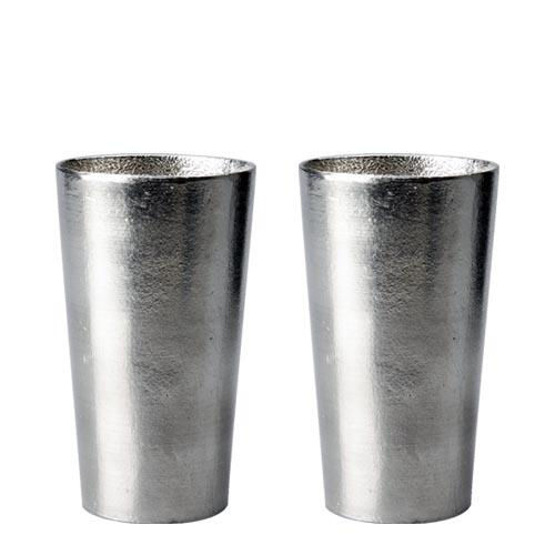 母の日ギフトセット 送料無料 2020 ビール 送料無料 能作 ビアカップ ペアセット 錫 [ ビール ジョッキ グラス ビアジョッキ ビアグラス おしゃれ ][ グルメ 誕生日 プレゼント 内祝い 記念品 ]