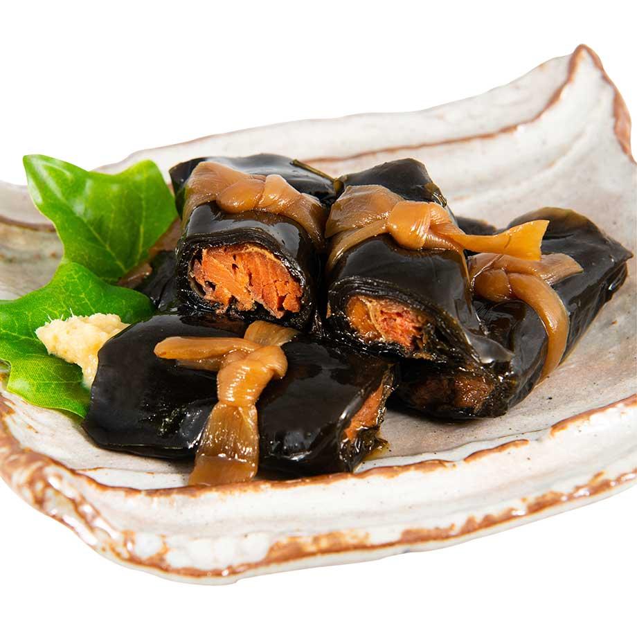 情熱セール 昔ながらの懐かしい北の味わい 寺田水産食品 紅鮭昆布巻 短巻 人気急上昇 6本入
