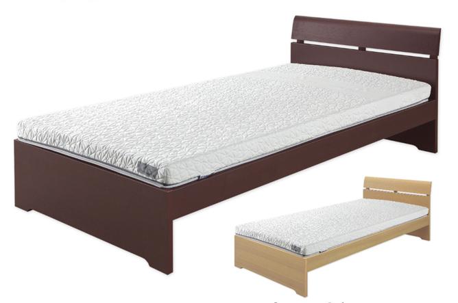 センベラ ベッドフレーム ベッド(タモ)北欧・ドイツのセンベラ(Sembella)/シングル・セミダブル・ダブル/ウッドスプリング/宮無し/フラット/高さ調節付き「マンス」