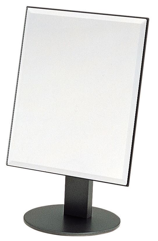 卓上ミラー・デスクミラー 鏡枠25x30cmスチール脚付【PFM-201】