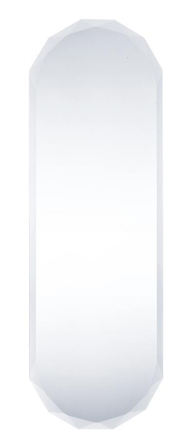 ウォールミラー 30x90cm変形(飛散防止フィルム付)【SUC-001】