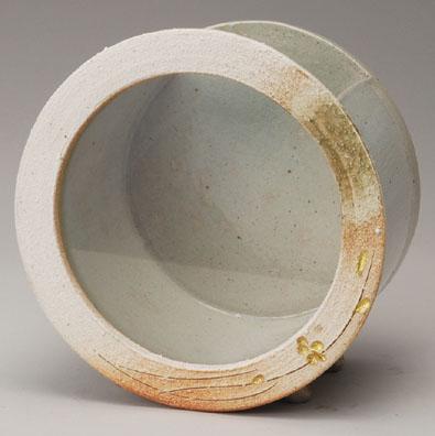 信楽焼 白金彩丸水槽(小)【541-01】【日本製】