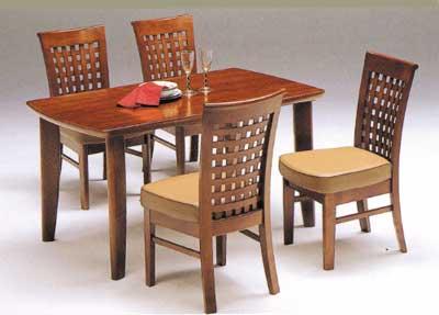 135幅テーブル/天然木のダイニング5点セット木製/北欧/ダイニングテーブルセット/食卓セット(食卓机)/食卓テーブルセット/カフェダイニング(おうちカフェ)/長方形テーブルの4人掛け ダイニングセット/ダイニングチェアと木製テーブルのセット/エイト