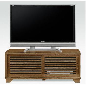古都 TVボード 幅120m 桐無垢材 うづくり仕上げ N型